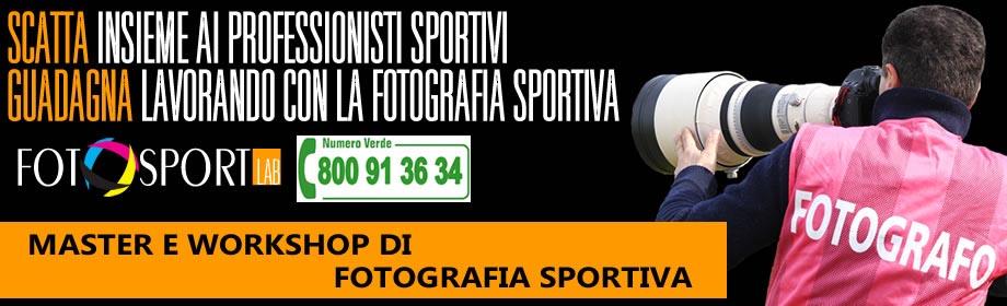 Corsi e Workshop di fotografia sportiva a roma